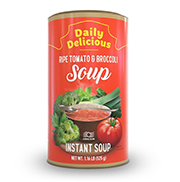 Daily Delicious Ripe Tomato & Broccoli Soup Coral Club